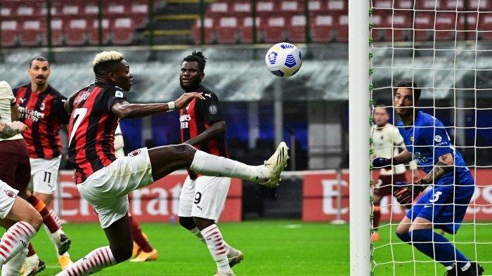Hasil Liga Italia - AC Milan Hancur Lebur di San Siro, Zlatan Ibrahimovic Tutup Muka
