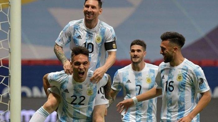 Hasil Copa America 2021 -  Argentina Kalahkan Kolombia Lewat Adu Penalti, Messi Lolos ke Final