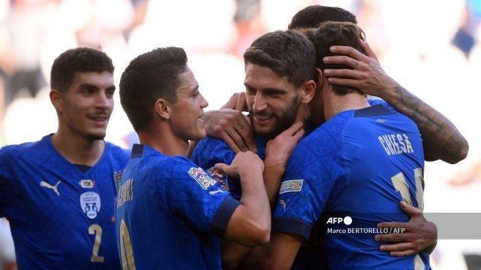 Kalahkan Belgia, Italia Rebut Juara Tiga UEFA Nations League 2021