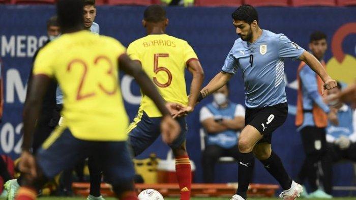 Hasil Copa America 2021 - Uruguay Tersingkir Kalah Adu Penalti, Kolombia ke Semifinal Berkat Ospina