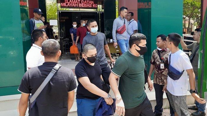 Dit Resnarkoba Polda Aceh Limpahkan 8 Tersangka Kasus 81 Kg Sabu ke Jaksa Aceh Timur