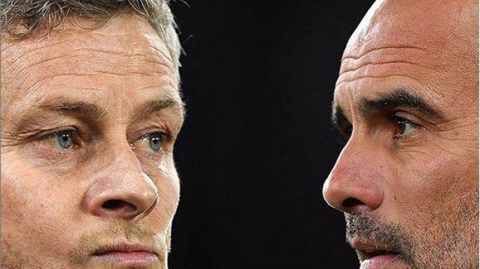 Man United vs Man City di Piala Liga Inggris, Ambisi Solskjaer dan Target Guardiola Cetak Quatrick