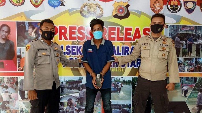 Satu Pelaku Perampasan Ponsel Pelajar di Aceh Utara Diringkus di Warung, Dua Orang Lainnya Jadi DPO