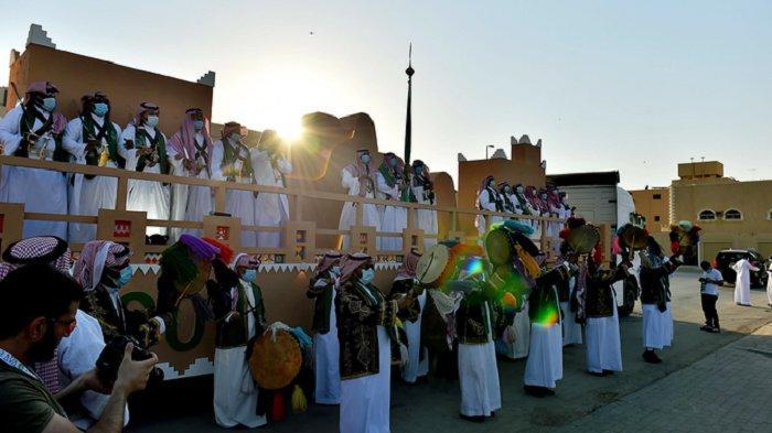 Diriyah Rayakan Hari Nasional Arab Saudi dengan Seni Budaya Interaktif