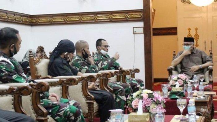 Perbakad Kodam IM Silaturahmi dengan Plt Gubernur Aceh, Bicara Persiapan Aceh Tuan Rumah PON 2024