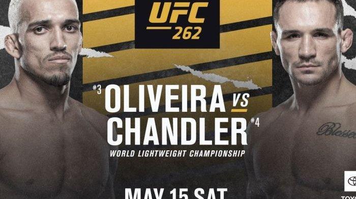 Jadwal UFC 262 - Oliveira dan Chandler Saling Incar Warisan Khabib