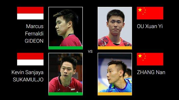 Live Streaming Perempat Final Indonesia Open 2019  - Jojo, Marcus/Kevin, Fajar/Rian Main Sesaat Lagi