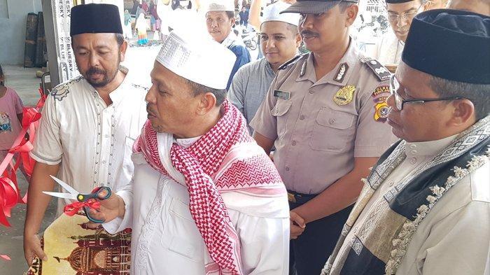 Bupati Pidie Jaya Resmikan Masjid Paru Keudee, Sempat Roboh Akibat Diterjang Gempa 2016