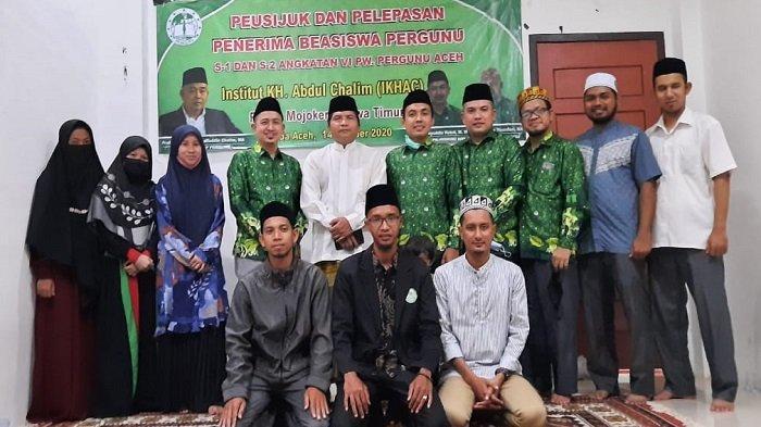Pergunu Aceh Kirim Enam Penerima Beasiswa Kuliah di IKHAC Jawa Timur