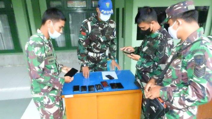Cegah Judi Online, Dandim Aceh Tamiang Kumpulkan Seluruh Prajurit dan Periksa Ponsel