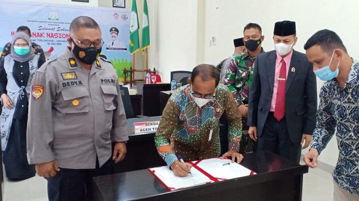 Aceh Timur Peroleh 2 Penghargaan dalam Peringatan Hari Anak Nasional