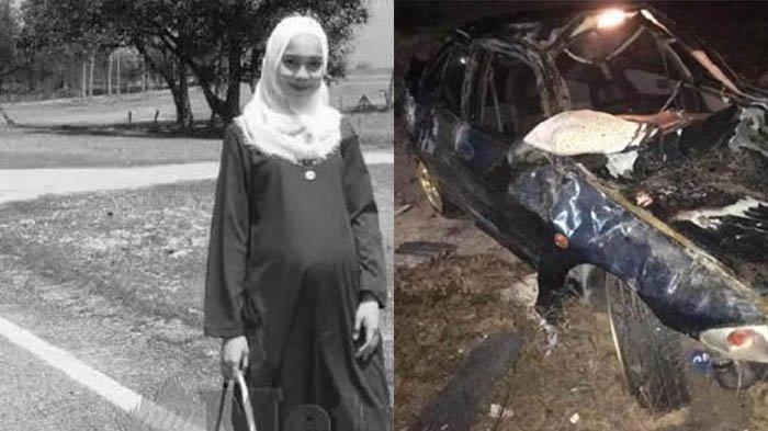 Pasangan Muda Ini Kecelakaan Saat Perjalanan Dini Hari, Istri Sedang Hamil Anak Pertama Meninggal