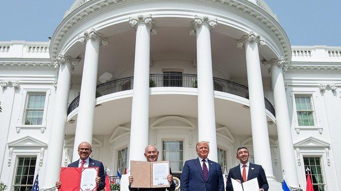 AS Berharap Kesepakatan Abraham Accords Akan Membantu Penyelesaian Masalah Israel-Palestina