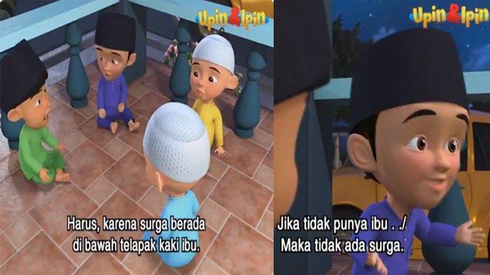 Nama Fizi Serial Kartun Malaysia Upin Ipin Mendadak Trending Topik di Twitter, Ini Penyebabnya