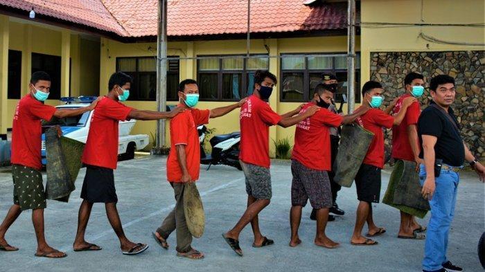 Toke Tambang Emas Ilegal di Aceh Barat DPO, Polres Kembangkan Melalui Penambang yang Sudah Ditangkap