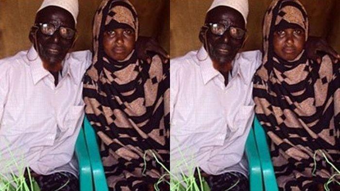 Pernikahan Beda Usia Teraneh di Dunia, Seorang Gadis 17 Tahun Rela Nikahi Kakek Berusia 112 Tahun
