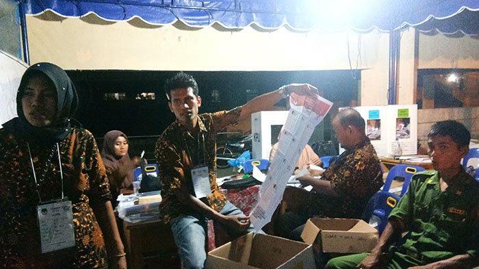 Perolehan Suara Sementara Pilpres dan Pileg 2019 di Aceh Singkil