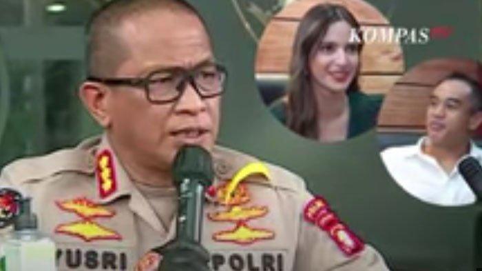 Pers rilis polisi tentang kasus artis NA dan AAB