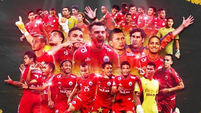 Persija Jakarta Juara Liga 1 Indonesia usai Kalahkan Mitra Kukar di Laga Pamungkas