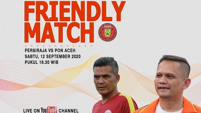 Besok Petang, Persiraja Jajal Tim PON Aceh, Live Streaming, Ini Syarat Nonton di Stadion Lampineung