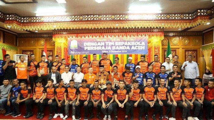 Hadapi Piala Presiden dan Liga 1, Persiraja akan Bentuk Kerangka Tim