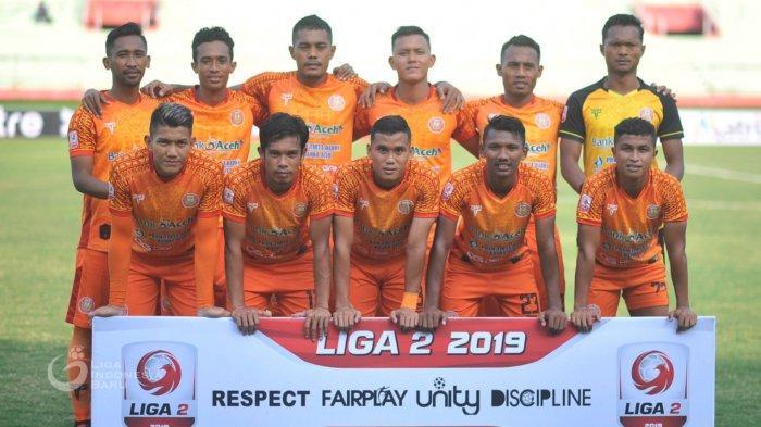 Tarung Terakhir Sore Ini, Persiraja dan Sriwijaya Butuh Satu Poin, Untuk Lolos ke Semifinal Liga 2