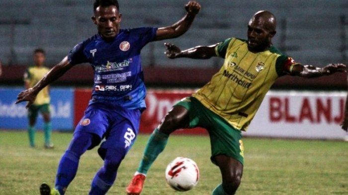 Persiraja Vs Sriwijaya Berebut Tiket Semifinal Liga 2, Sore Ini di Gresik, Ini Pertemuan Ketiga