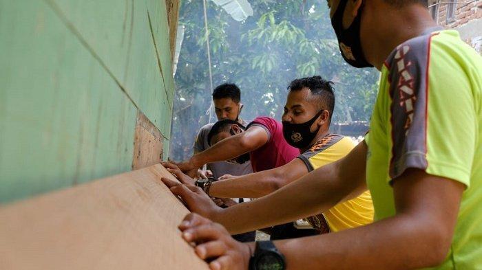Personel Satlantas Kumpulkan Barang Bekas, Hasilnya untuk Budidaya Lele, Lalu Lakukan Kegiatan Amal