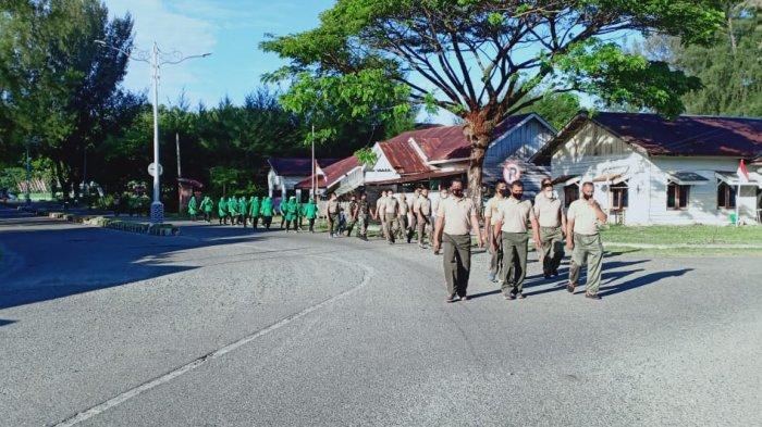 Laksanakan Olahraga Bersama, Dandim Aceh Jaya : Tetap Mengedepankan Protokol Kesehatan