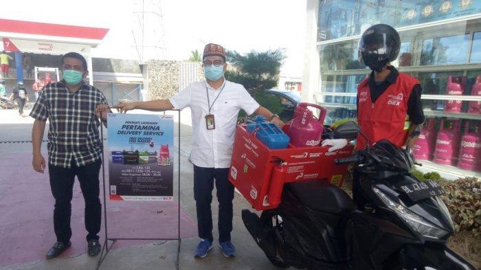 Antisipasi Penyebaran Virus Corona, Pertamina Luncurkan Delivery Service di SPBU Tunggal Cita Mulia