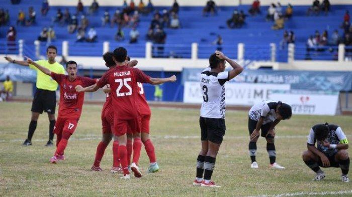 Sepak Bola PON XX Papua: Laga Aceh VS Kaltim Diduga 'Main Sabun', SOS Tuntut Lakukan Investigasi