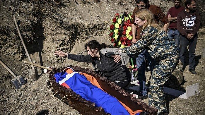Gencata Senjata Tak Bertahan Lama, Azerbaijan dan Armenia Kembali Saling Gempur