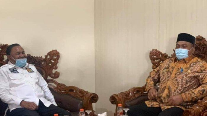 Bertemu Abdulah Puteh, Bupati Dulmusrid Minta Dukungan Pengembangan Pariwisata di Aceh Singkil