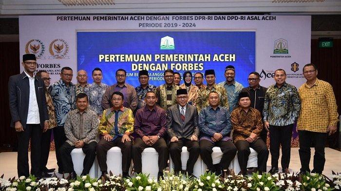 HRD: Forbes dan Pemerintah Aceh Bertemu, Monumental dan Strategis bagi Aceh