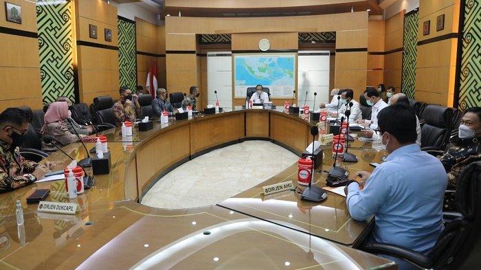 Bahas Pilkada Aceh, Ketua DPRA Koordinasi dengan Menkopolhukam, Begini Jawaban Mahfud MD