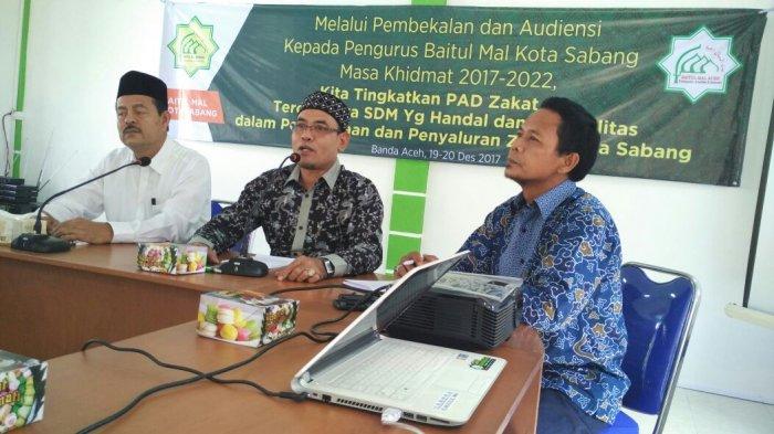 Baitul Mal Sabang Belajar Pengelolaan Zakat ke Baitul Mal Aceh