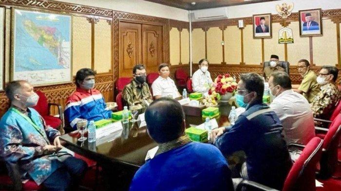 Jelang Pengeboran, SKK Migas dan BPMA Sampaikan Update Kegiatan Hulu Migas di Aceh ke Gubernur Nova