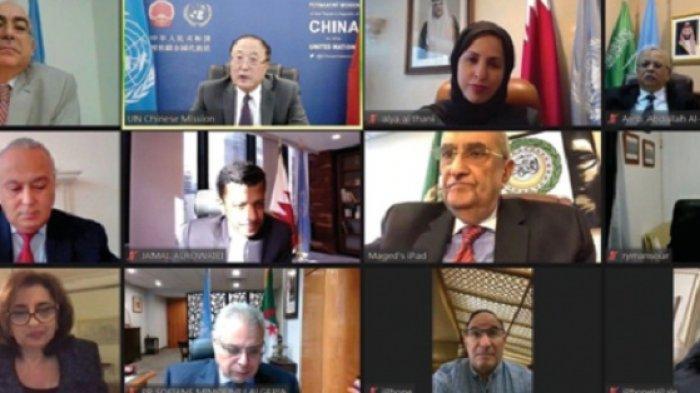 Arab Saudi Memimpin Aksi Arab di PBB Menyoroti Kekerasan Israel di Jalur Gaza dan Jerusalem