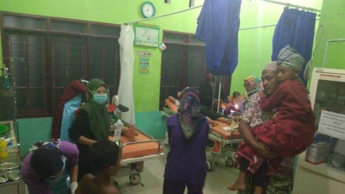Ini Para Santri Korban Roboh Pesantren Ruhul Azham Blangkejeren, 1 Dirujuk ke RS Diduga Terkena Paku