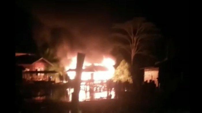 Bangunan Pesantren di Aceh Singkil Terbakar