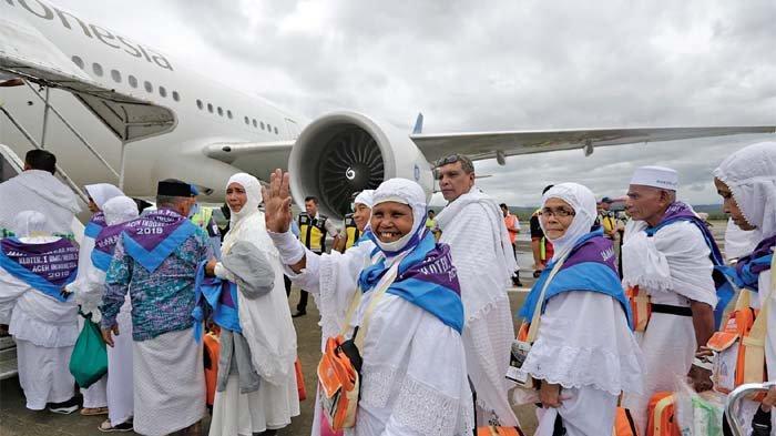 Sudah Dua Hari di Mekkah, JCH Aceh Kloter 1 Sudah Laksanakan Umrah Wajib