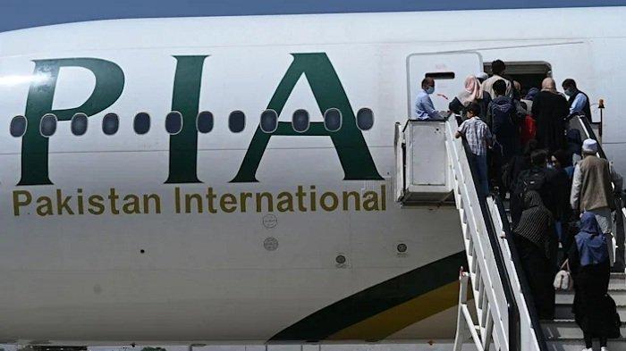 Pakistan Airlines Hentikan Penerbangan ke Kabul, Taliban Minta Harga Tiket Diturunkan
