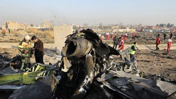 Ukraina Tolak Tawaran Iran, Kompensasi Setiap Korban Pesawat Jatuh Dirudal, Dipatok Rp 2,1 Miliar