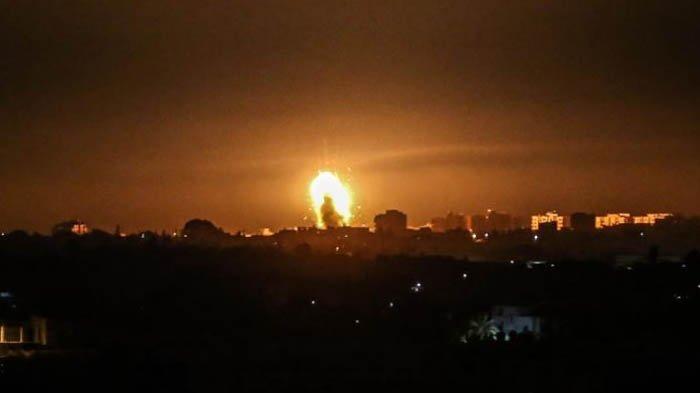 Pesawat Tempur Israel Lakukan Serangan Udara di Jalur Gaza, Rumah Sakit Anak-Anak Rusak