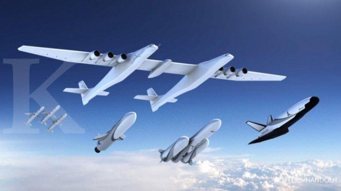 Pesawat Terbesar di Dunia Terbang untuk Pertama Kalinya