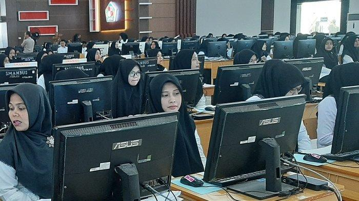 9 Hari Pelaksanaan Tes SKD di Pidie, CPNS Lulus Passing Grade Capai 1.724 Orang