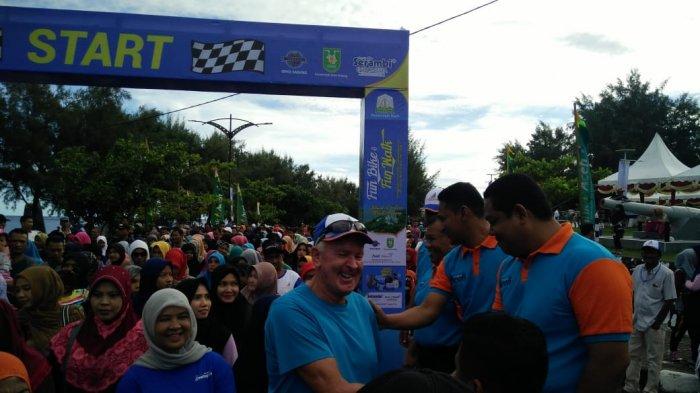 VIDEO - Warga Negara Asing Juga Ikuti Funbike dan Funwalk di Sabang