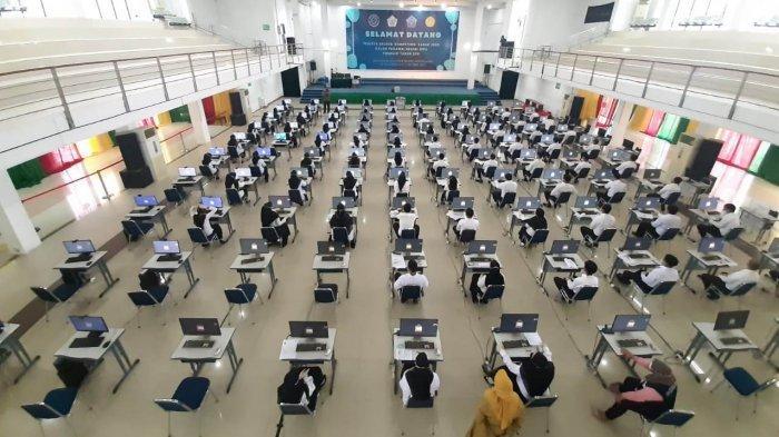 Update Tes CPNS di Lhokseumawe, 135 Peserta SKD Gugur, Tiga Terpapar Covid-19