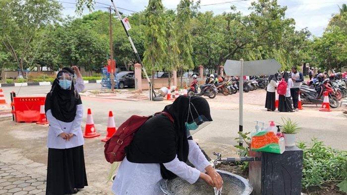 Lima Peserta Tidak Hadir di Hari Terakhir Tes CPNS di Pidie