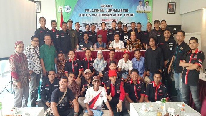 50 Jurnalis Aceh Timur Ikut Pelatihan